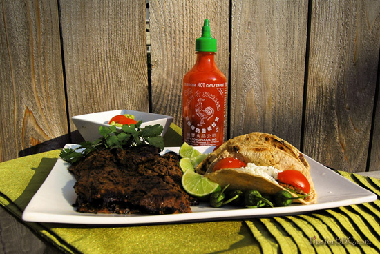Henry Kim's Winning Sriracha Carne Asada Photo Contest Winner